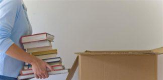 imballare i libri