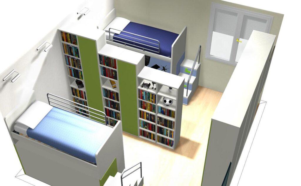 Come ricavare due camere separate da una sola camera
