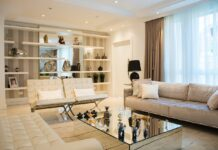 sistemare divano e poltrone